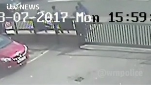 Shocking footage of man being attacked in broad daylight