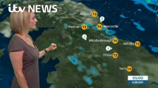 VIDEO: Saturday's forecast for the North East