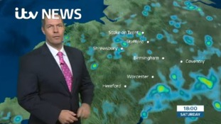 West Midlands Weather: Scattered showers, turning heavy
