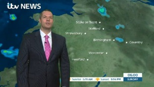 West Midlands Weather: Scattered showers on Sunday