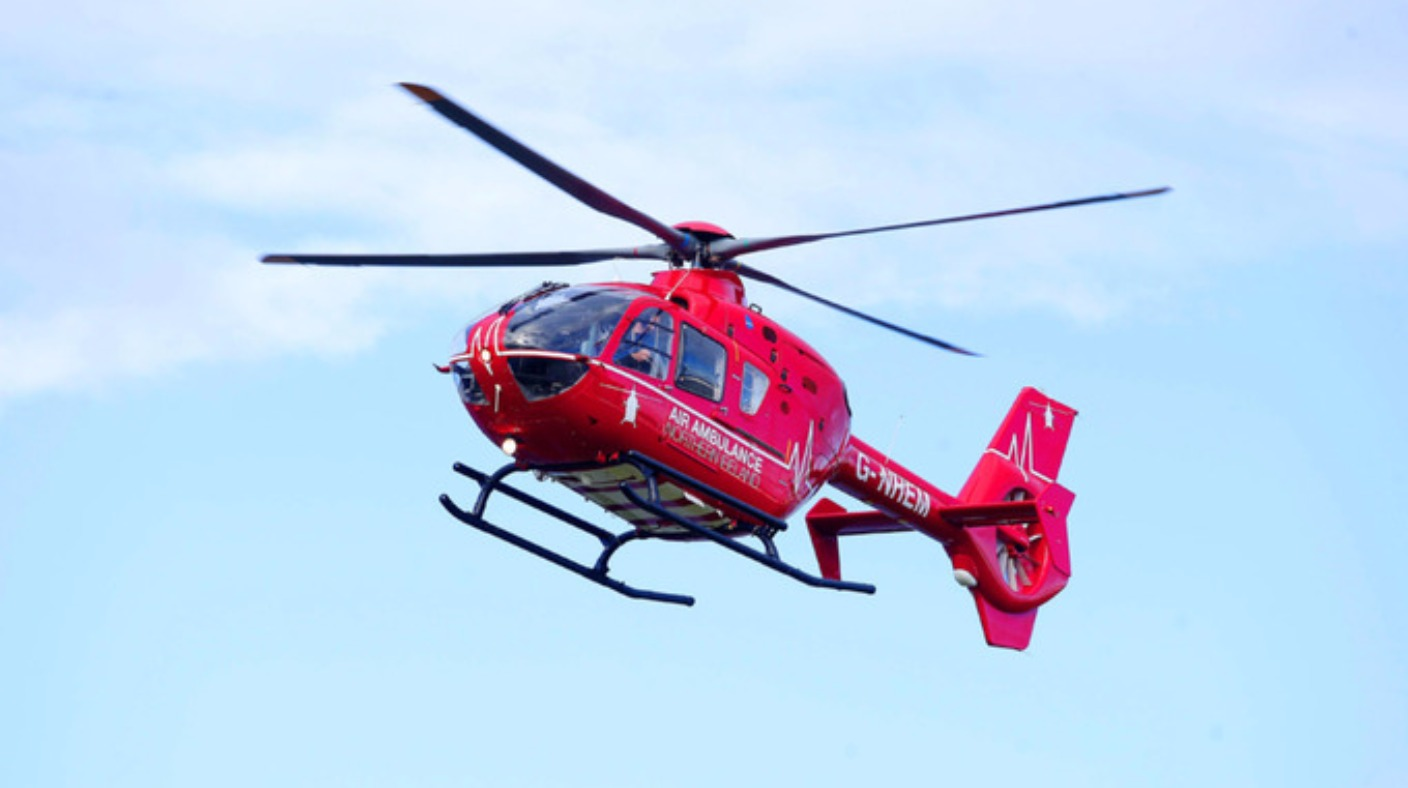#0376C8 NI Air Ambulance Makes First Rescue UTV ITV News Highly Rated 8489 Air Conditioning Courses Belfast wallpapers with 1408x788 px on helpvideos.info - Air Conditioners, Air Coolers and more