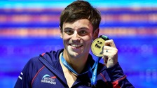 Tom Daley wins gold at diving World Championships