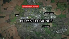 Man charged with murder after Bury St Edmunds stabbing