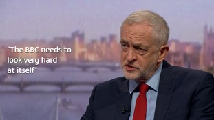 Jeremy Corbyn said the treatment of women by the corporation was 'appalling'.