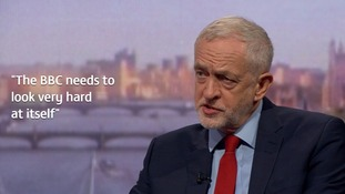 Corbyn: The BBC needs to look very hard at itself over 'astronomical' gender pay gap