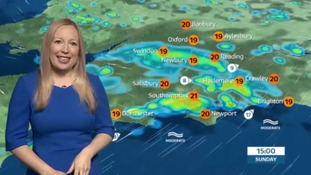 Sunday's weather for the west with Philippa