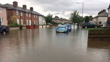 Localised flooding hits Dumfries and Galloway