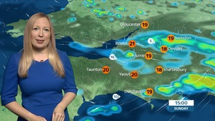 More sunshine with some heavy showers