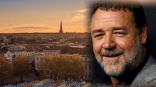 Norwich tourism video makes impression on Russell Crowe