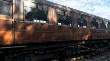 Vandalism stops service at historic North Yorkshire railway