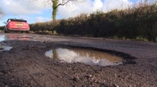 Worst areas for potholes revealed
