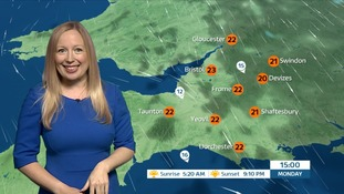 A dry start to the week