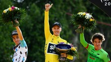Froome wins fourth Tour de France title