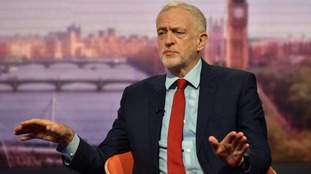 Mr Corbyn said he wanted to look at ways to reduce, ameliorate, lengthen the period of paying off debt.