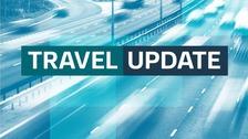 M54 Eastbound delays