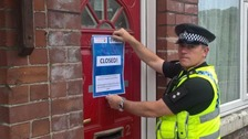 A house in Ferham has been 'closed' due to ongoing issues with drug use.