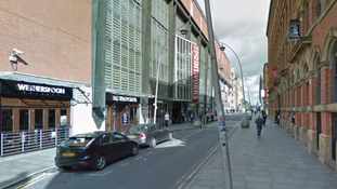 The incident took place near The Printworks