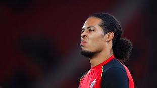 Virgil van Dijk left out of Southampton pre-season training camp in France