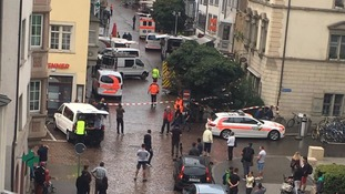 Five people injured in chainsaw attack in Switzerland
