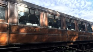 Over £19k has been raised in 24 hours to repair seven vintage rail carriages that were vandalised.