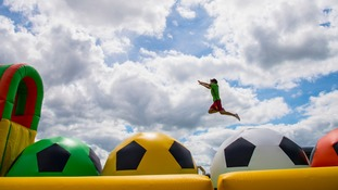 The longest, continuous, inflatable obstacle course in the world.