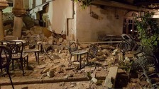 Filey woman describes night of Kos earthquake