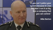 Mike Barton Chief Constable Durham Constabulary