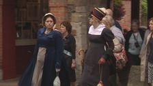 Jane Austen's funeral procession recreated in Winchester