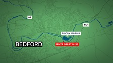 Two men have died in the River Great Ouse at Bedford in the last week.