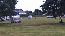 The caravans at London Road in Clacton.
