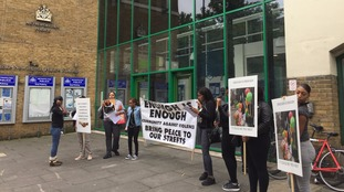 Campaign group Stand Up To Racism today called on supporters to demonstrate outside Stoke Newington police station.
