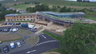 The new Sill Discovery Centre – a £14 million project designed to help people understand the landscapes and heritage of Northumberland.