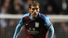 Aston Villa captain Stiliyan Petrov