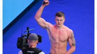 Adam Peaty wins gold at the World Championships