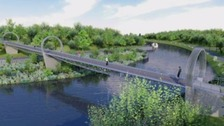 Construction of the bridge is expected to be completed in 18 months.