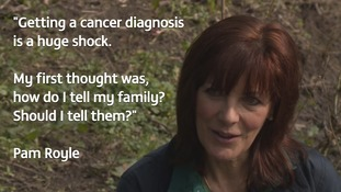 Pam Royle speaks out about her skin cancer scare