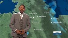 East Midlands weather: An improving picture
