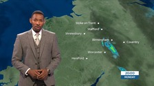 West Midlands weather: Showers drying away