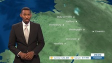 West Midlands weather: A dry day with sunny spells