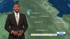 East Midlands weather: A cloudy start