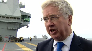 Michael Fallon: UK 'equipped' to deal with terror threats abroad