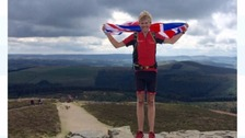 On top of the world after climbing the UK - exhausted Alex on how he kept going to reach the top
