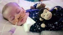Charlie's parents spend 'last precious moments' with terminally ill boy