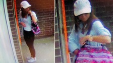 Police release CCTV following purse theft