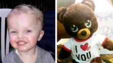 Mum's plea to find missing teddy with tragic son's voice