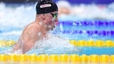 Adam Peaty sets world record at swimming championships