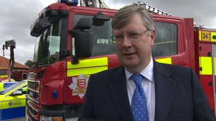 Roger Hirst, Police and Crime Commissioner for Essex.