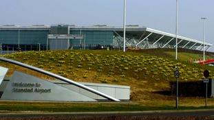 A teenager arrested at Stansted Airport has been released.