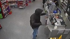 Armed robber jailed for raiding supermarket at knifepoint