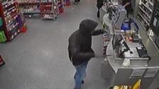 Armed robber jailed for raiding supermarket at knifepoint
